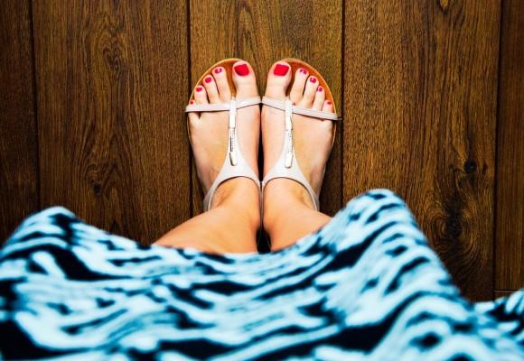 Problemas comunes de los pies en verano
